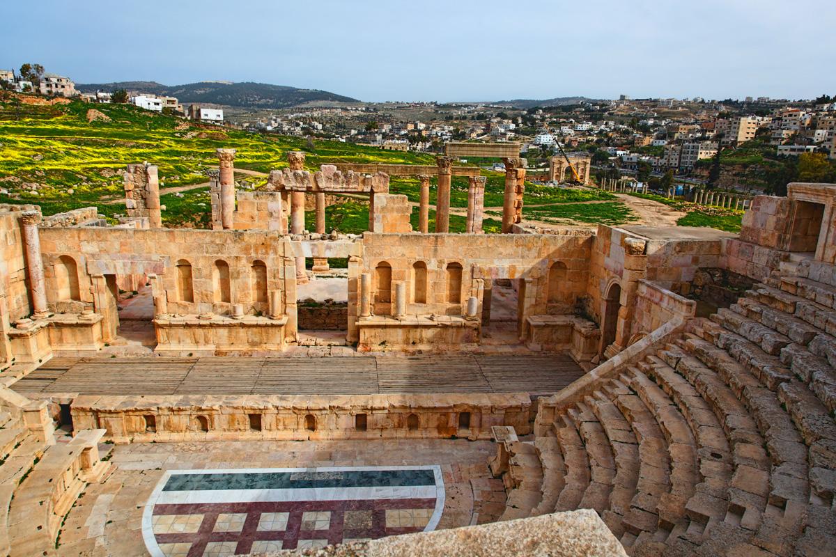 The Roman northern amphitheater