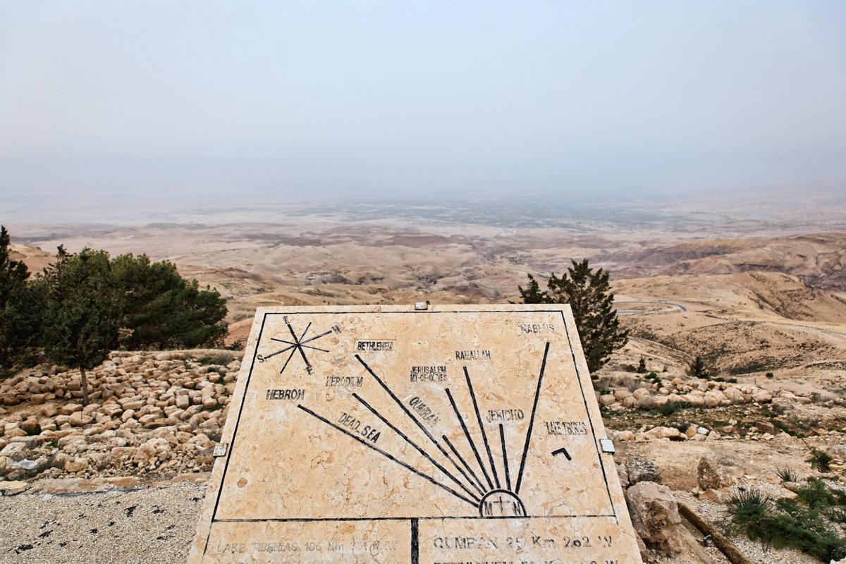 Not Jerash - Mount Nebo