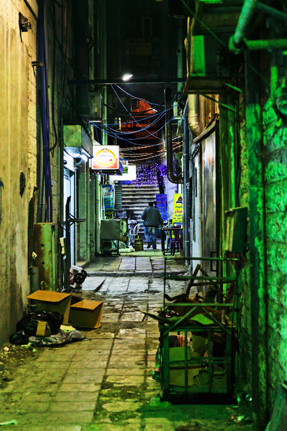 Alley in downtown Amman