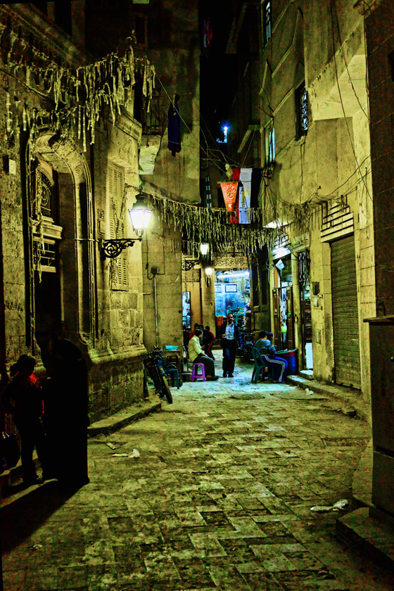 Small alley - Old Islamic Quarter