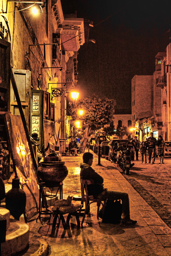 Street near Khan Al-Khalili