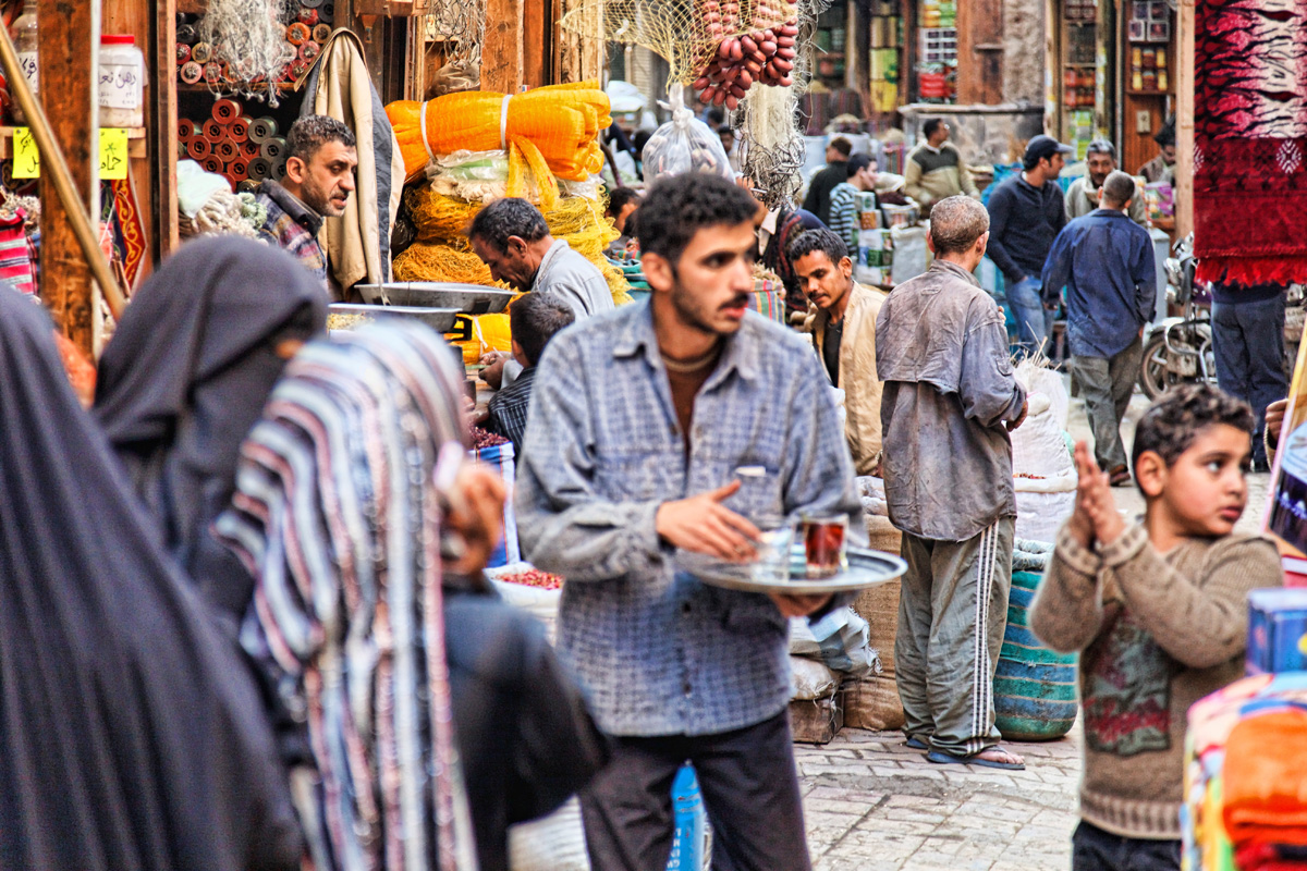 Near Khan Al-Khalili Market