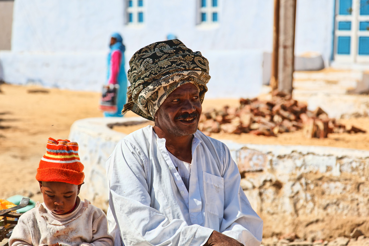 Two Nubians