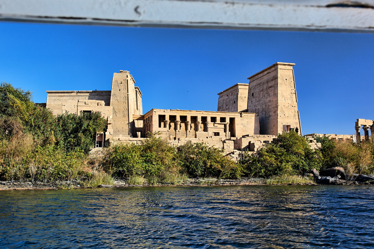 Philae Temple near Aswan