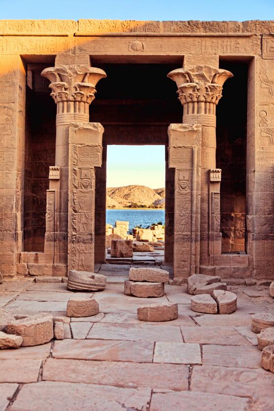 Philae Temple - detail