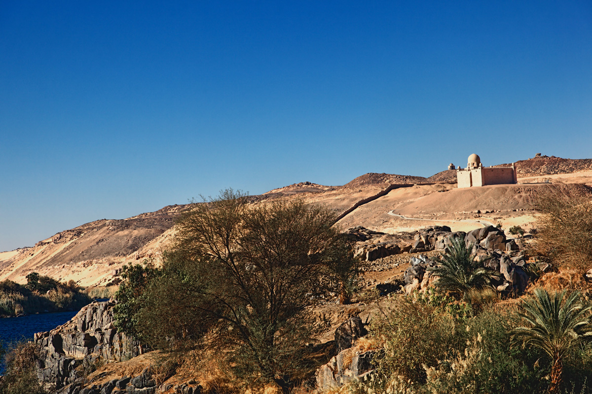 Mausoleum of the Aga Khan - near Aswan