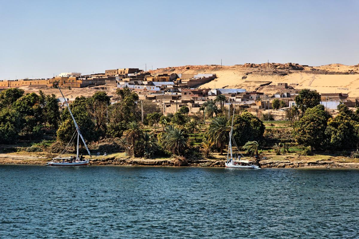Nubian village - near Aswan