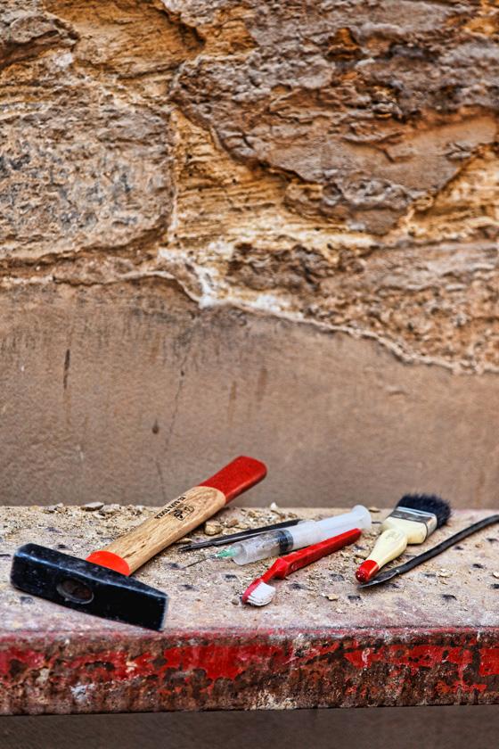 Archaeologist tools - Karnak