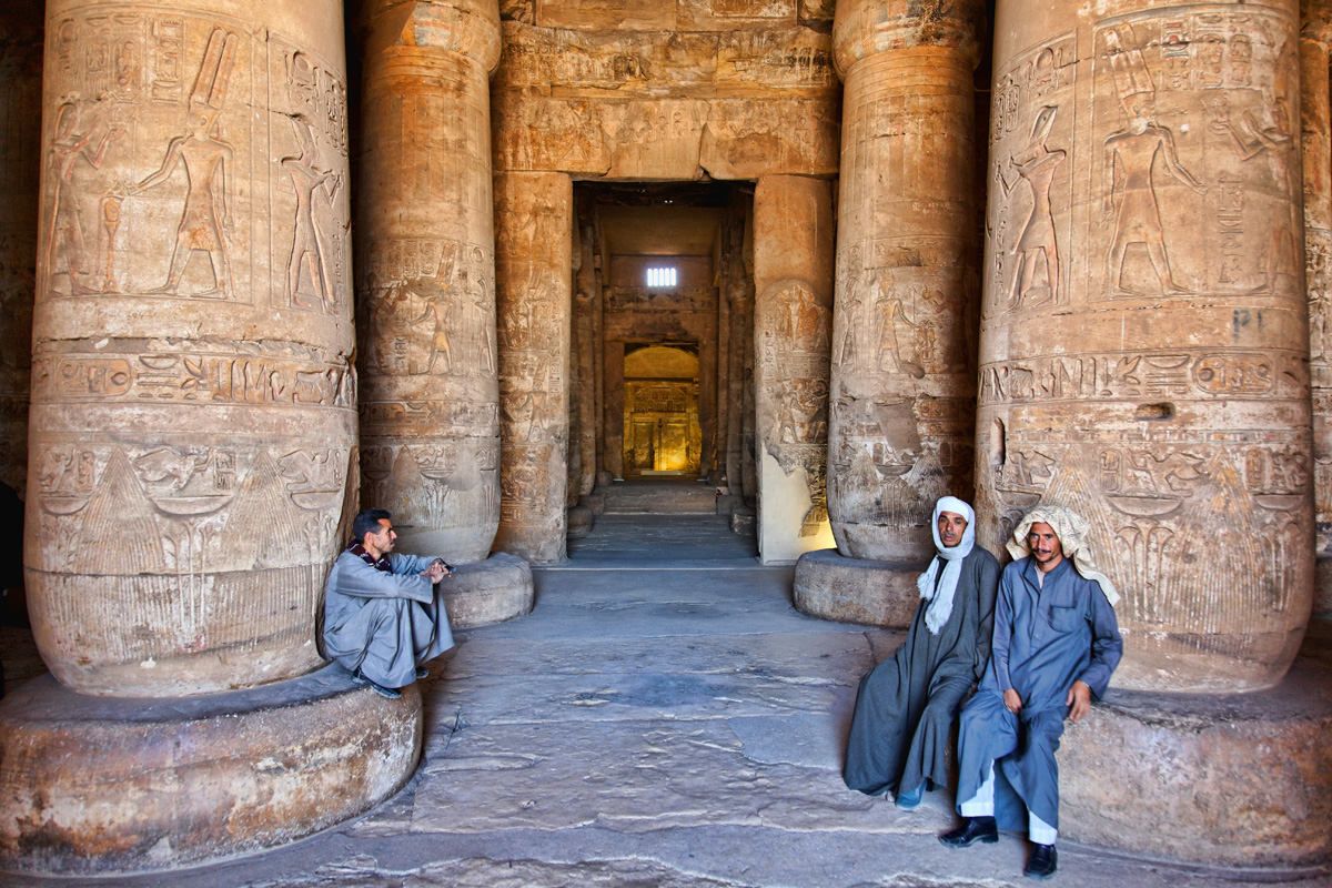 Guards - Temple of Seti, Abydos