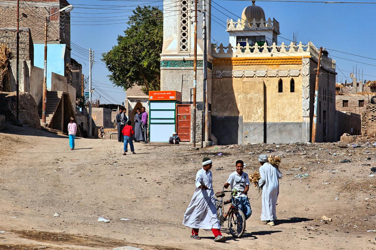 Street scene - Abydos